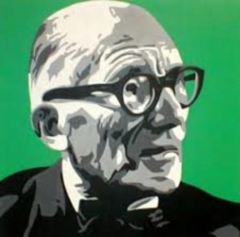 Lecorbusier anuncia los cinco puntos de la arquitectura nueva