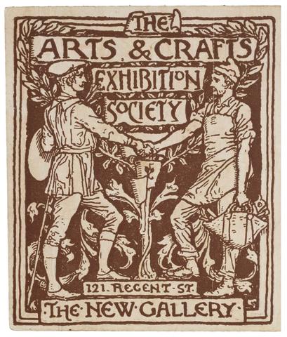 """Surge oficialmente el movimiento """"Arts and Crafts"""""""