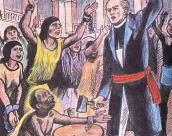 Abolición de la esclavitud en México