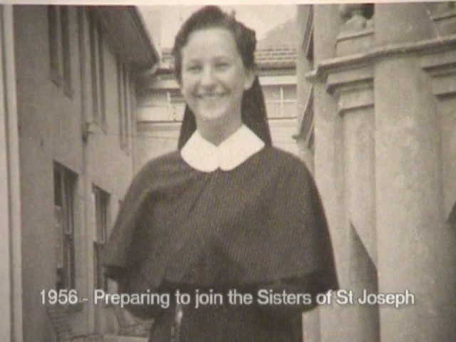 Enters the Sisters of St Joseph