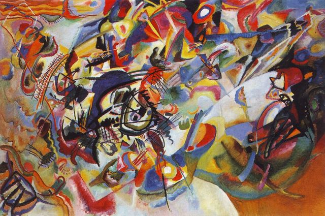 """Wassily Kandinsky completes """"Composition VII"""""""