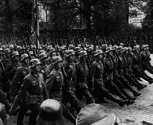 Germany takes over Poland (ww2)