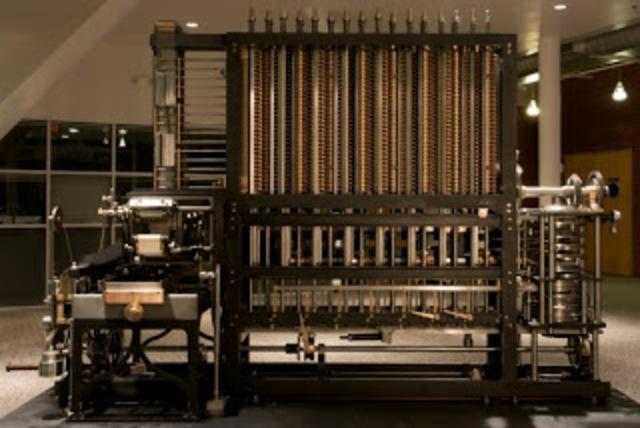1834: Maquina de Babbadge