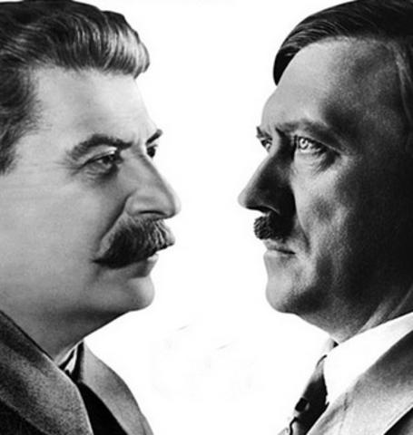 Hiter + Stalin