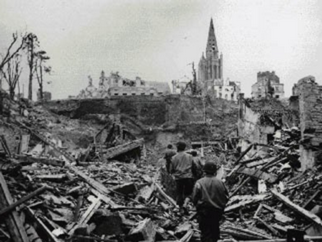 France had been destroyed