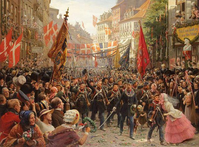 The First Schleswig War Began.