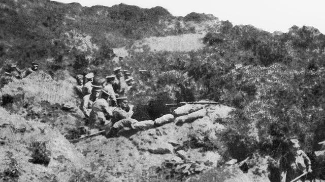 Jim Arrives at Gallipoli