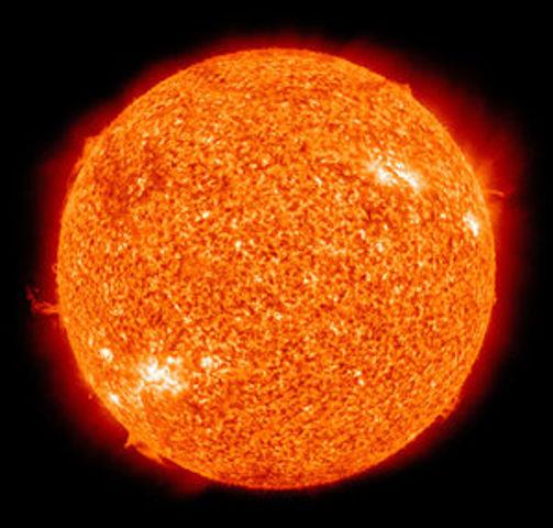 14 000 000 000 a. C  Se forma el sol