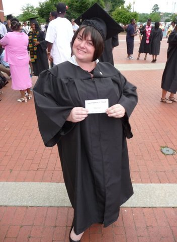 Graduation from my bachelor's degree