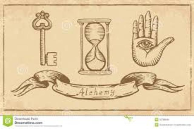 1900 a. C. Fundación de la alquimia