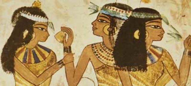 1200 a. C. Primera quimica perfumista.