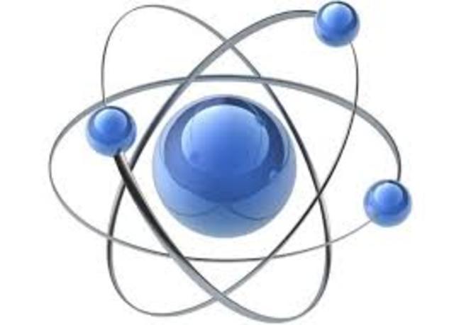 440 a. C. Idea del átomo.