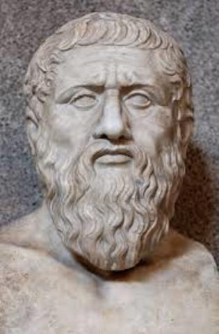 """360 a. C. Platon idea el termino """"elementos"""""""