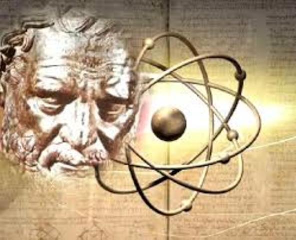 50 a. C. Ideas del atomismo.