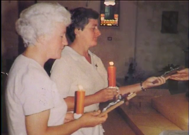 Irene received her last vows as a novice