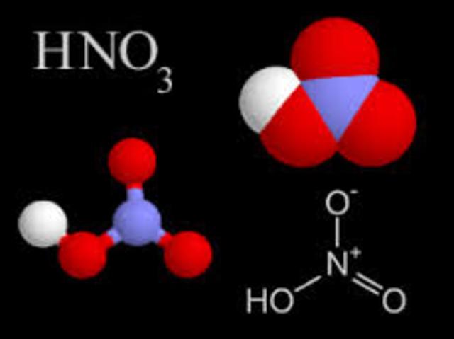 Descripcion del ácido nítrico