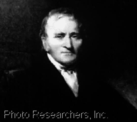 Dalton publica su obra Nuevo sistema de filosofía química,