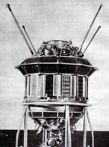 USSR launch Luna 3