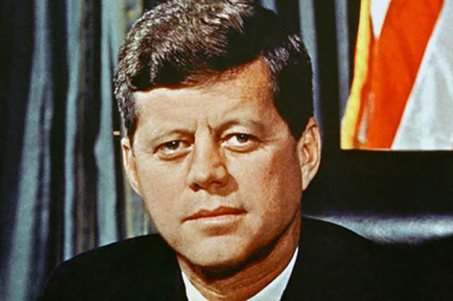 John F Kennedy is elected president of the United States