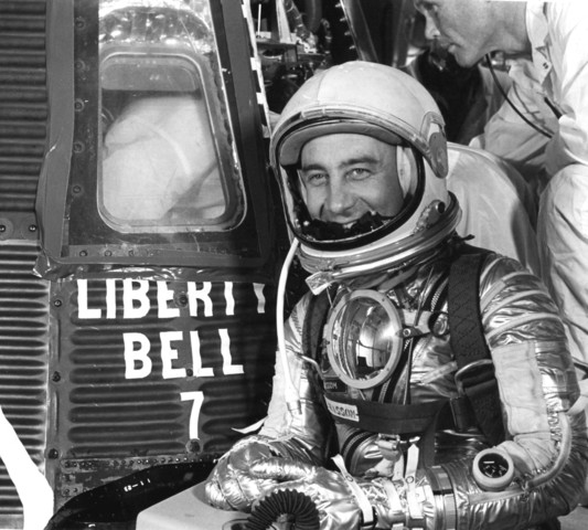 Gus Grissom becomes the second American in space and later sinks his Liberty Bell capsule