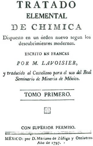 TRADUCCION AL CASTELLANO DELÑ TRATADO DE LAVOISIER