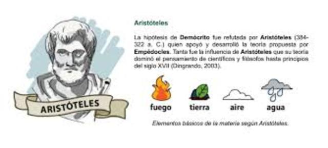 1-3 AÑOS D.C ; CUATRO ELEMENTOS DE ARISTOTELES.