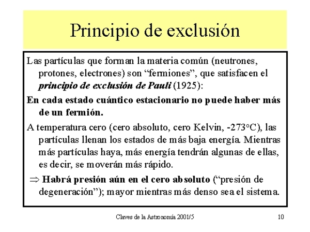 Principio de exclusión