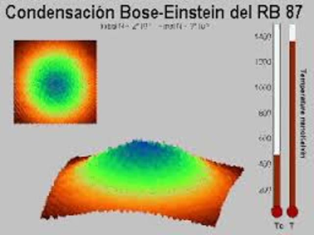 Primer condensado de Bose-Einstein