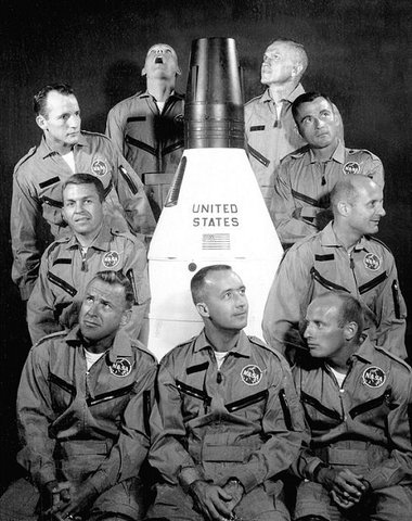 """NASA selects its second group of astronauts also known as the """"New Nine"""""""