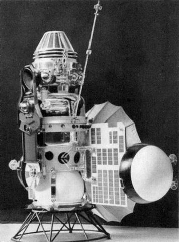 USSR launch Venus 3