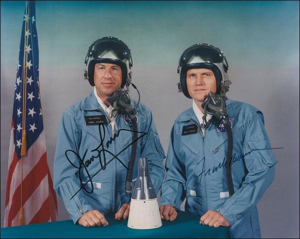 Frank Borman and James Lovell begin a two week stay in Earth orbit aboard Gemini 7