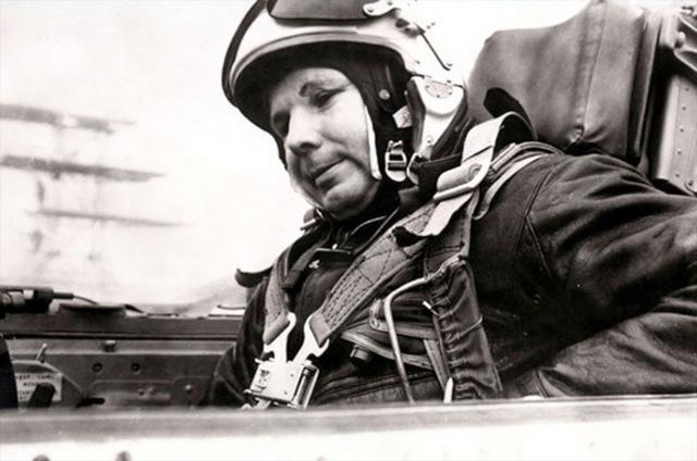 Yuri Gagarin, the first man is space dies in a plane crash