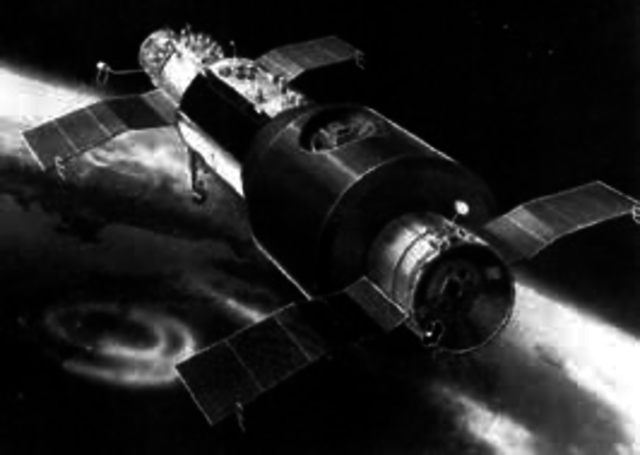 USSR launch the Salyut 1 space station