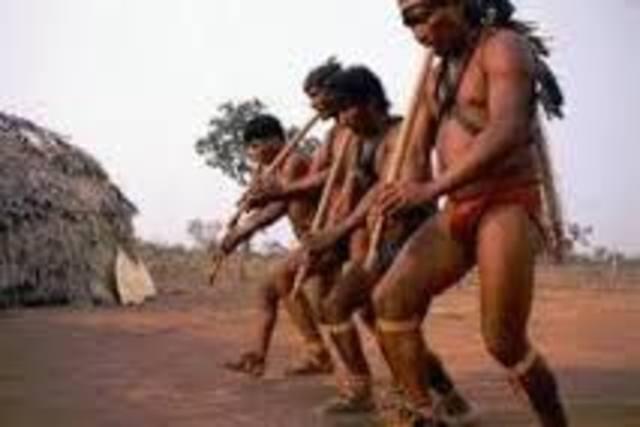 Música das tribos indígenas
