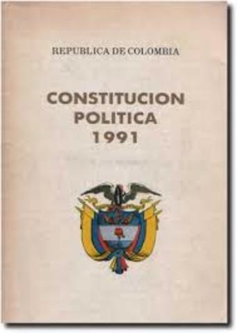 Constitución de 1991, consagración de principios fundamentados en la Ley