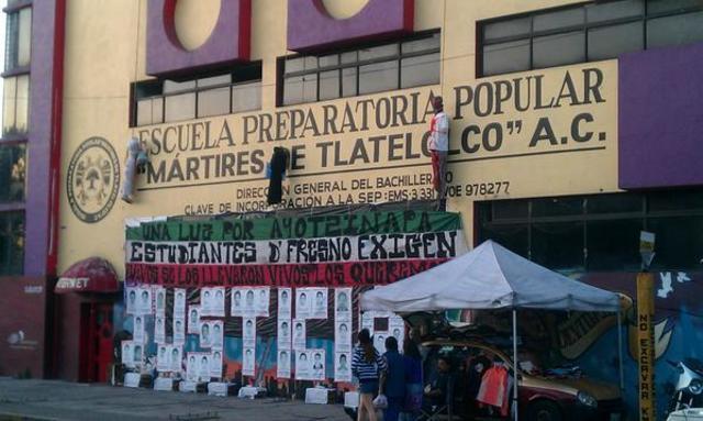 EDIFICIO ACTUAL PREPARATORIA MARTIRES DE TLALTELOLCO