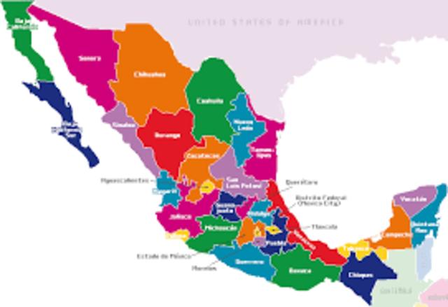 VIAJE POR TODA LA REPUBLICA MEXICANA