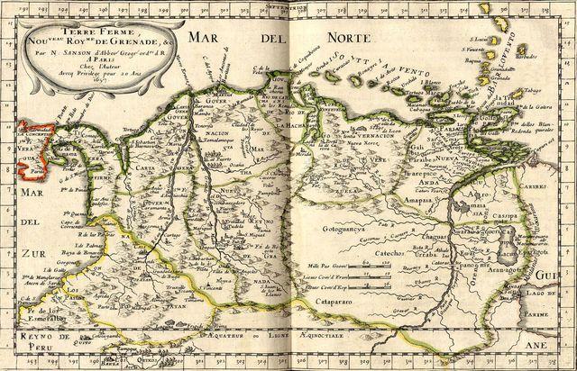 Mapa de laExpedicion Botanica