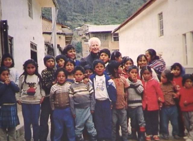 Sister Irene arrives in Peru