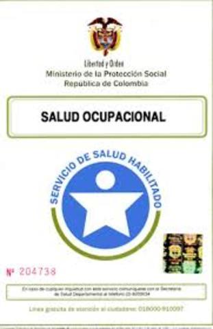 Resolución 2318.Licencias de Salud Ocupacional