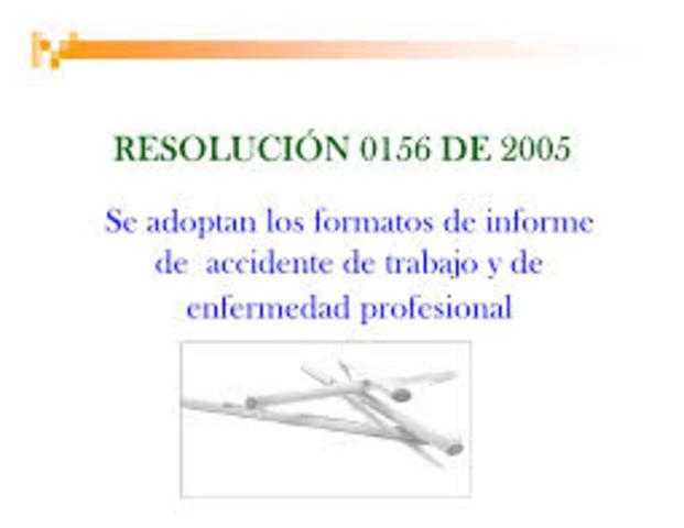 Resolución 1570. Mecanismos de recolección de información