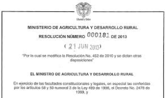 Resolución 1536. Integración del Cómite Nacional de Salud Ocupacional