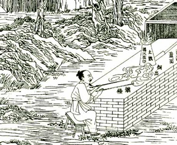 China Siglo VII a. C.
