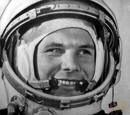 Yuri Gagarin becomes the first man in space