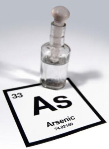 Descubrimiento del arsenico