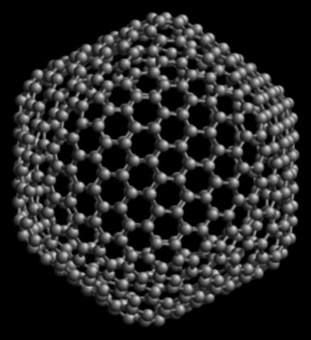 Descubren el fullereno