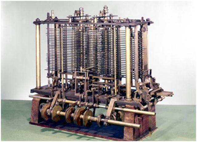 Maquina Analitica de Charles Babbage