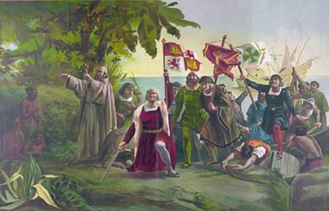 Segundo viaje de Colón a América.