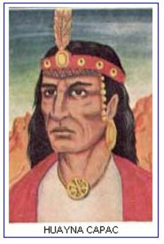 Muerte de Huayna Capac