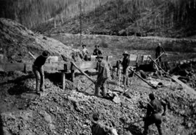 Start of the Gold Rush